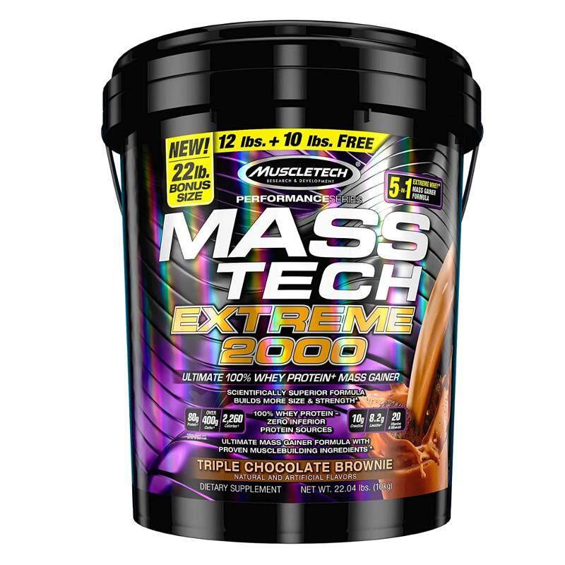 Muscle Tech Mass Tech TripleChocolateBrownie 22 lb