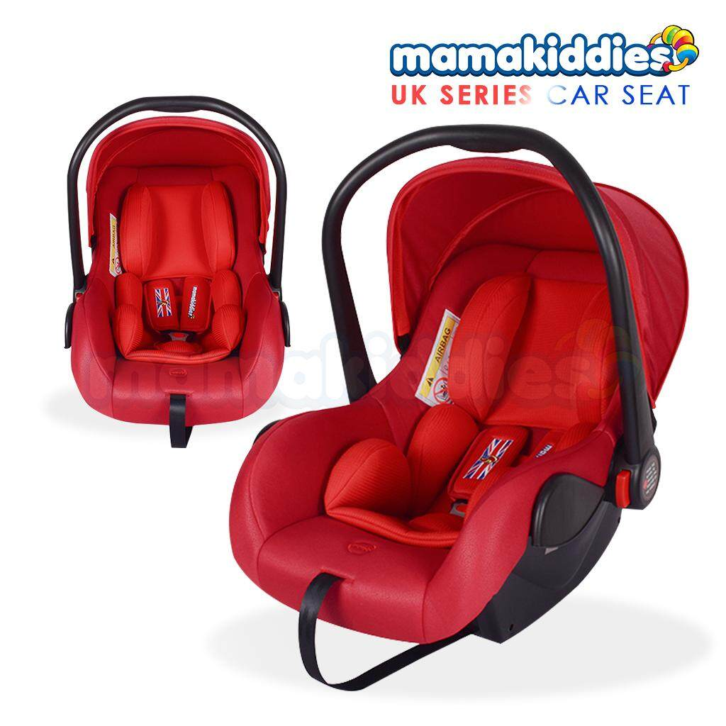 Mamakiddies Extra Comfy New Born Infant Car Seat Baby Carrier Carseat