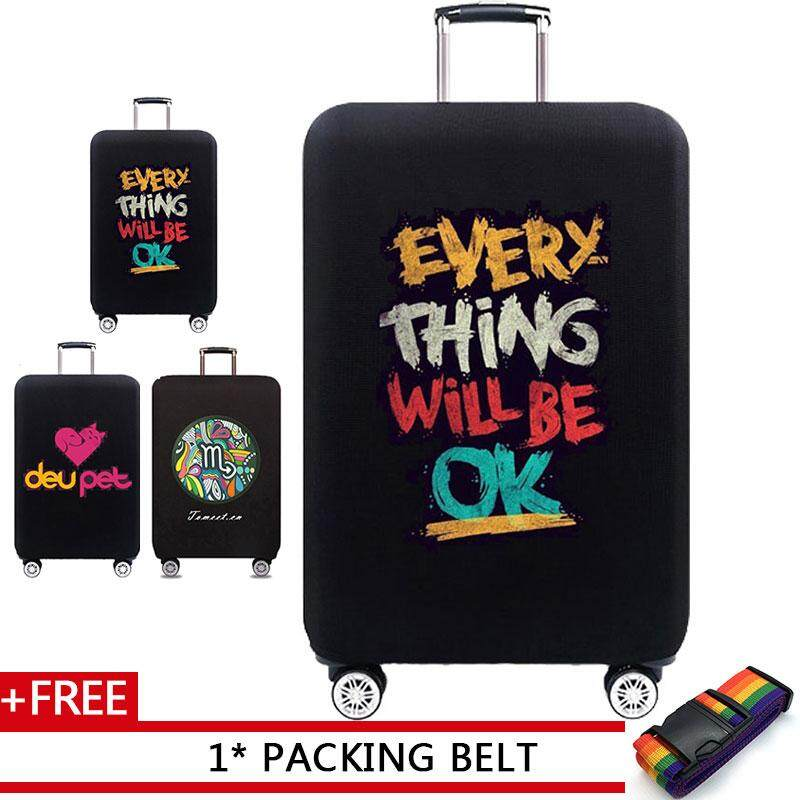 0444bb1e076 JOHNN 18 25 32 inch New Luggage protectors Elasticity Suitcase Protective  case Trolley case