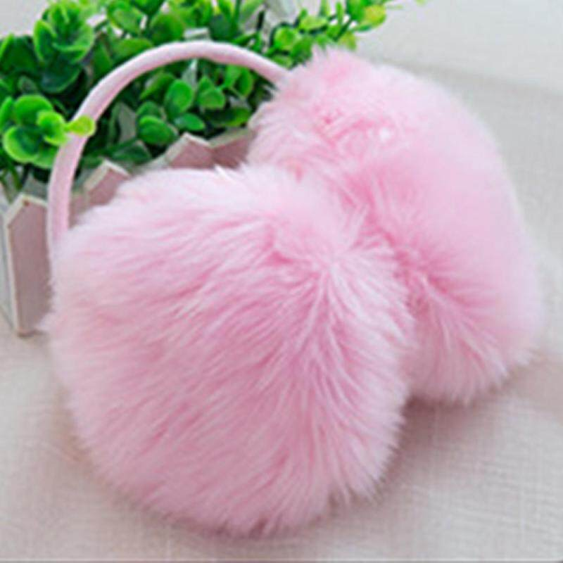 Tsujiu Store 2018 Fashion Hot Sale!!!Ear Muffs Earmuffs Pure Faux Rabbit Fur 6 Color Keep Warm Ear-Cap