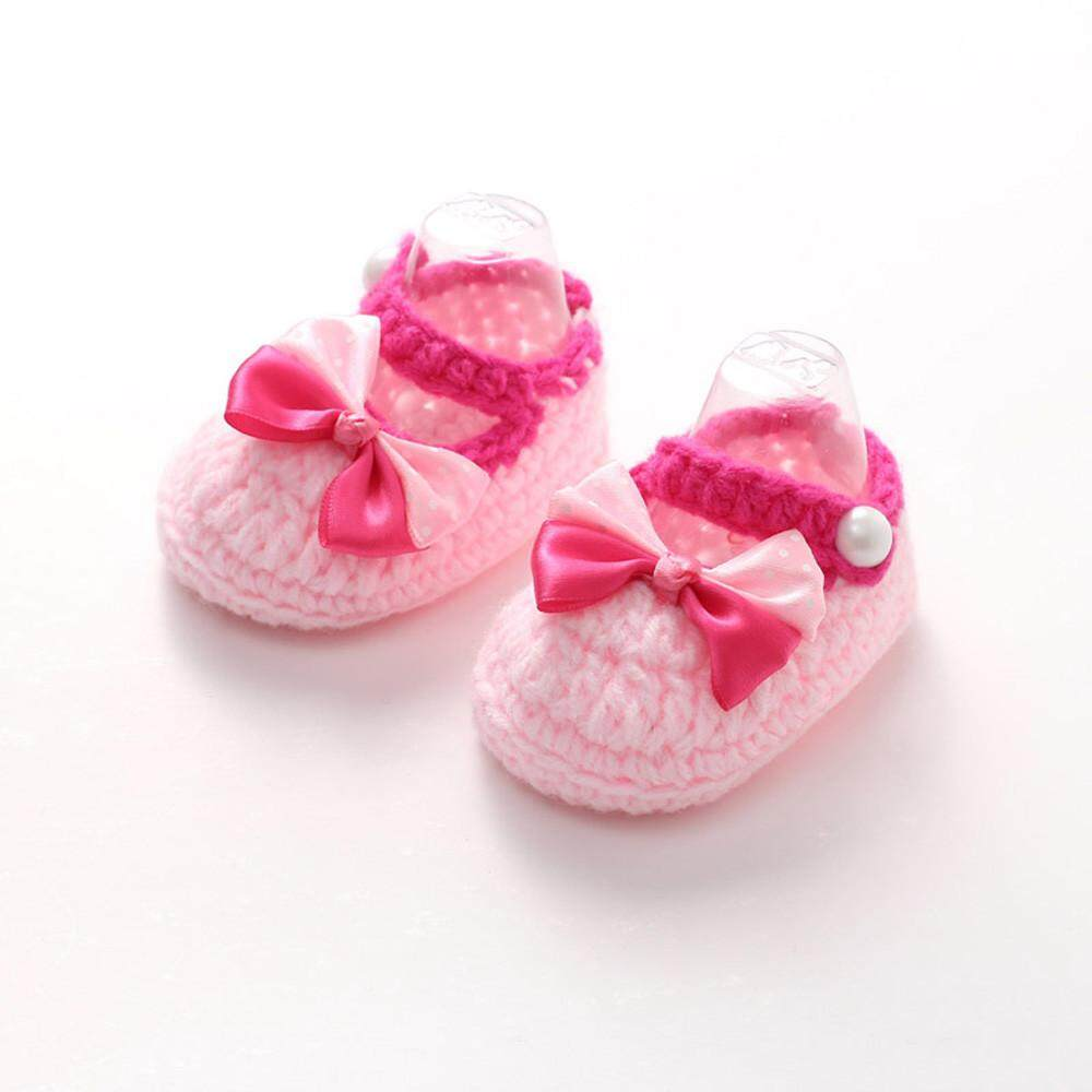 Radocie Baby Girls Crochet Handmade Knit Shoes By Radocie.