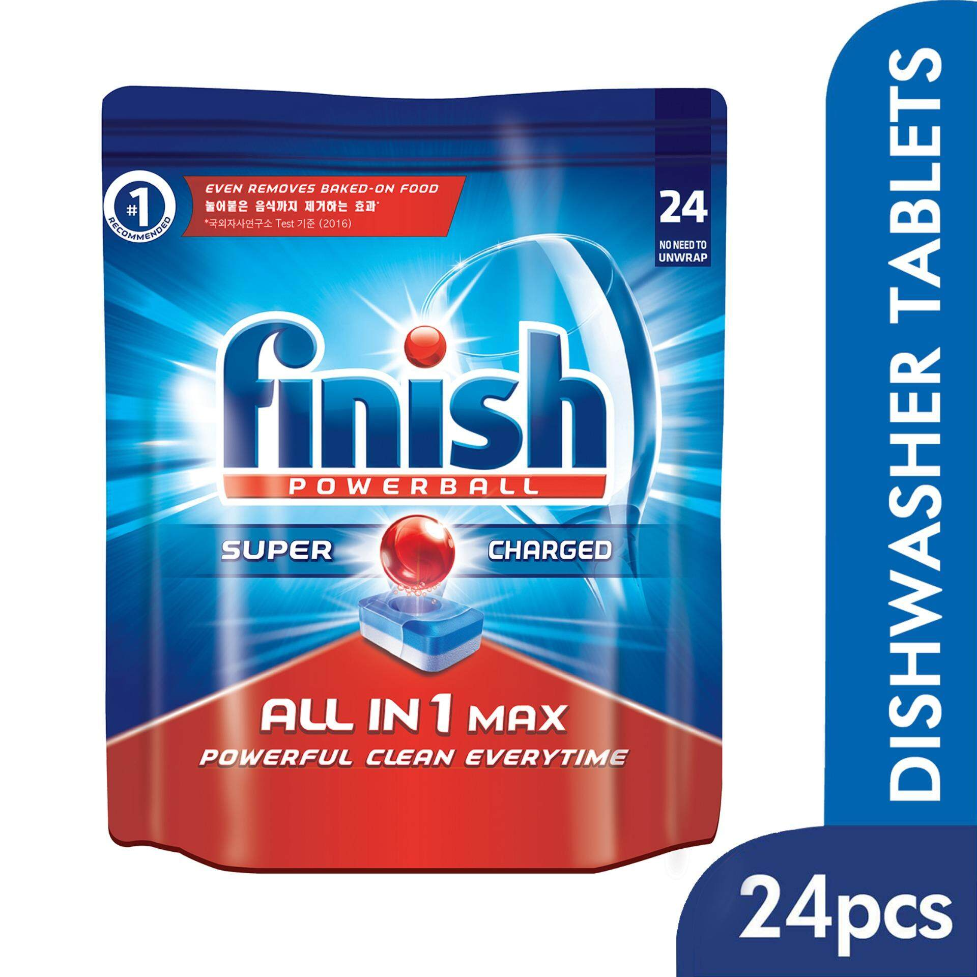 finish dishwasher tablets all in 1 max lemon 90-count