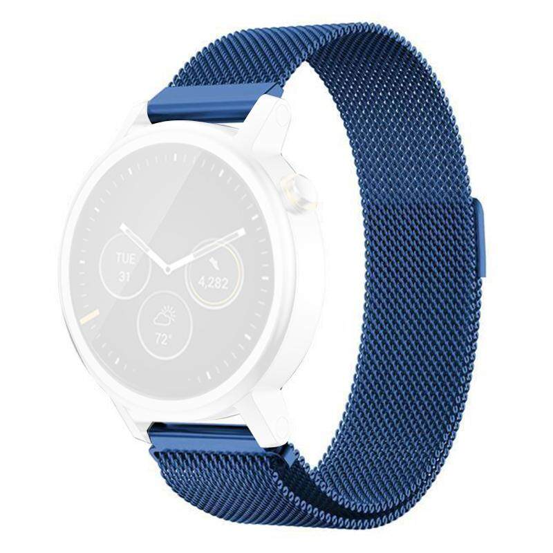 Milanese Magnetic Loop Stainless Steel Band For MOTO 360 2nd Smart Watch Blue 46MM Malaysia