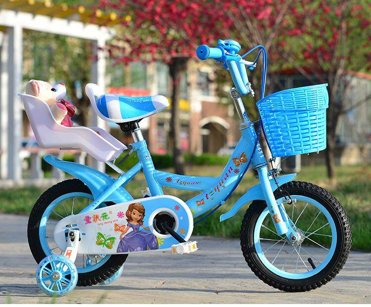 12 Inch Baby Girl Bicycle By Power Rider.
