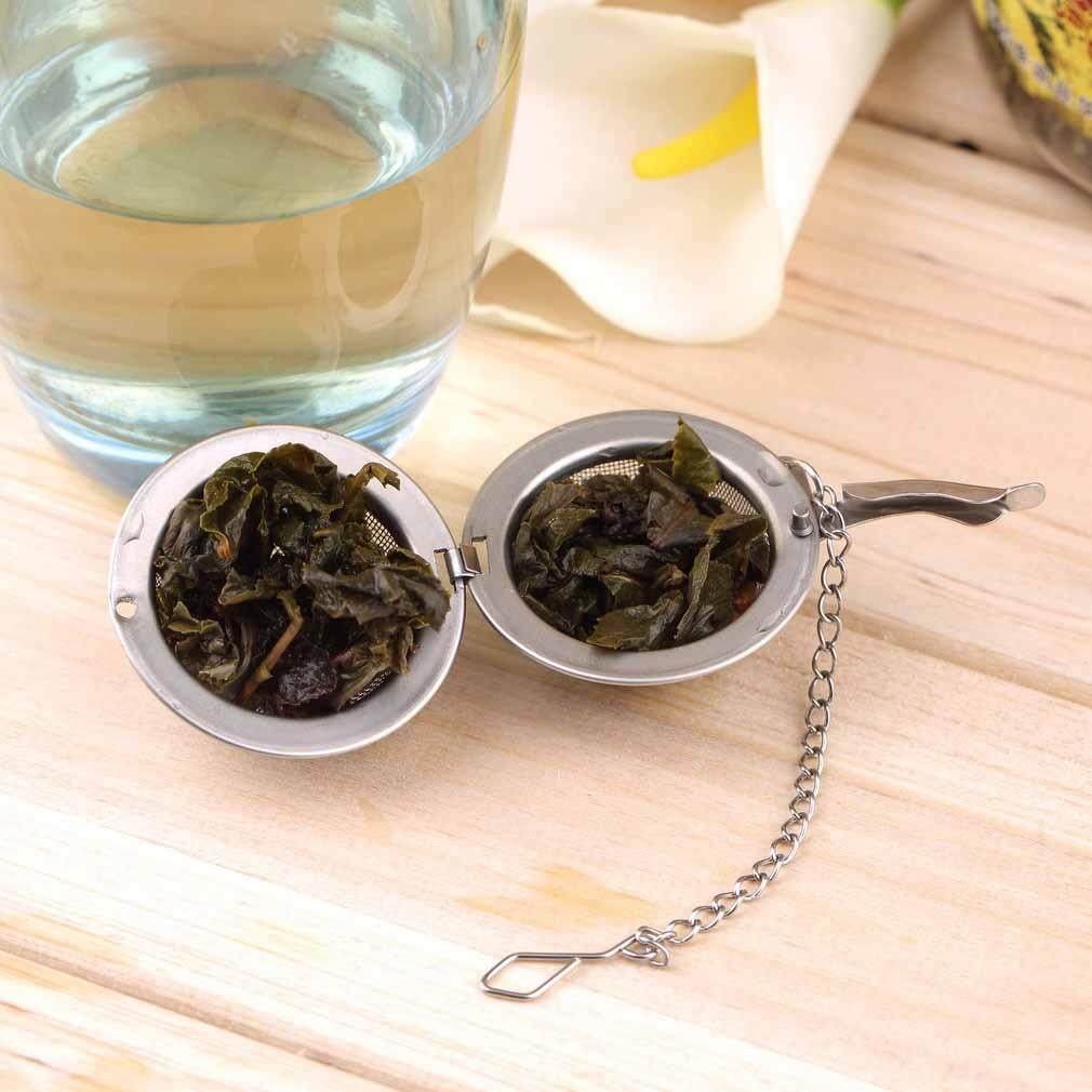 Lissng Non-Toxic Stainless Steel Spice Tea Ball Strainer Loose Tea Leaf Filter Colanders By Lissng.
