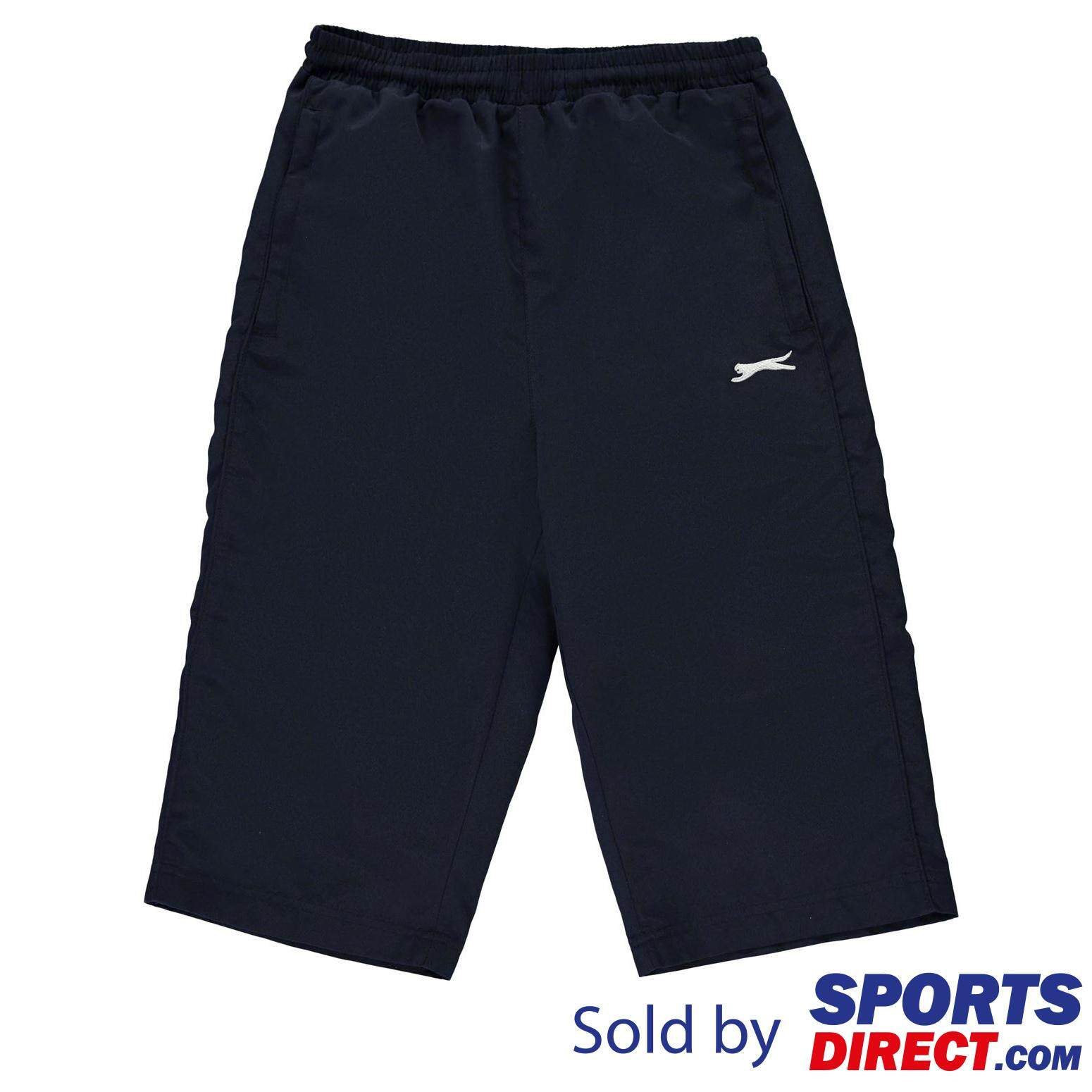 Slazenger Kids Boys Three Quarter Track Pants (navy) By Sports Direct Mst Sdn Bhd.