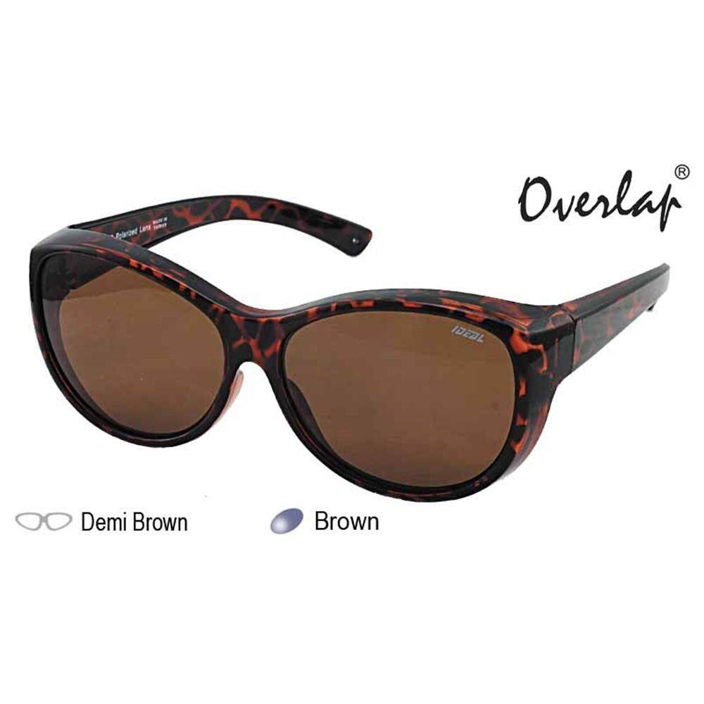 9100c652eea 4GL IDEAL 8974 Fit Over Overlap Polarized Sport Sunglasses UV 400