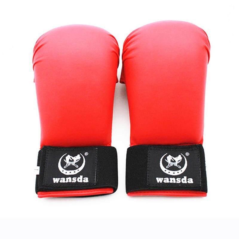 Fighting Fitness Boxing Gloves Half Finger Gloves Women Men Children Karate Boxing Gloves By Great Sport.