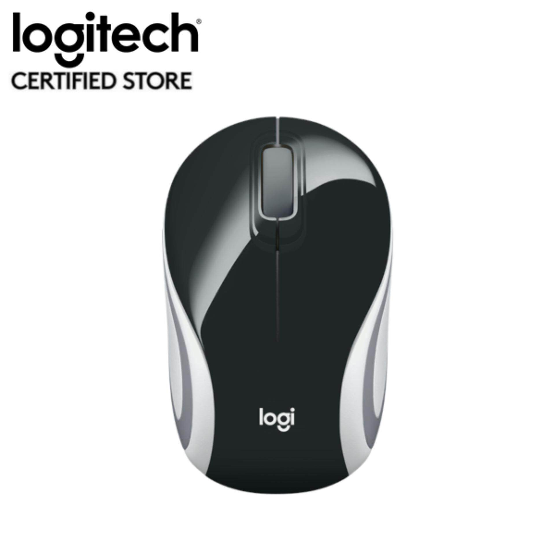 Logitech M187 Wireless Mini Mouse - Black (910-002741) Malaysia