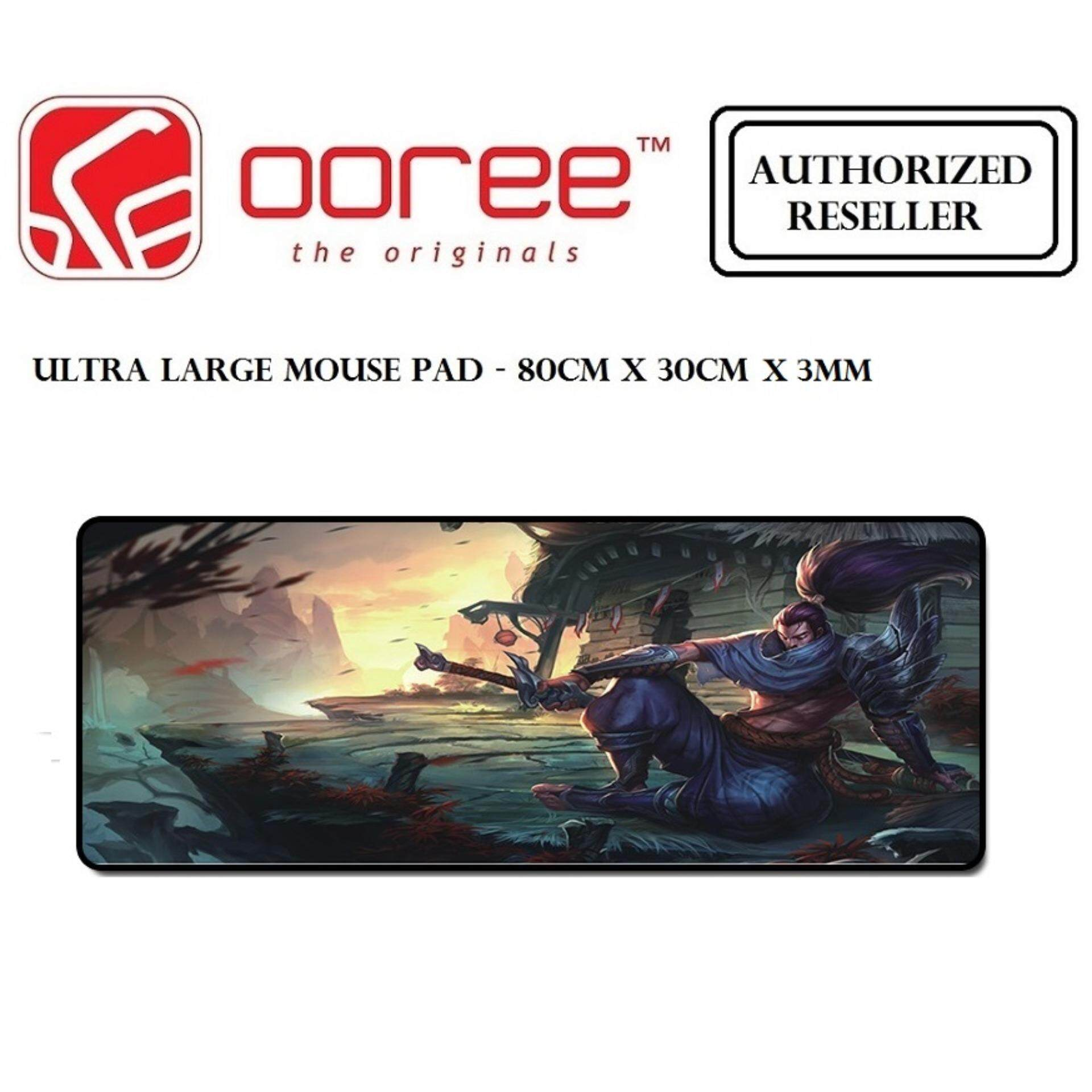 ULTRA LARGE ANTI-FLIP RUBBER SOFT TEXTILE GAMING MOUSE PAD - 80CM X 30CM Malaysia