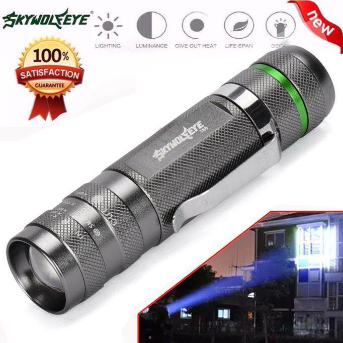 3000LM Zoomable XM-L T6 LED 18650 Flashlight Torch Super Bright Light