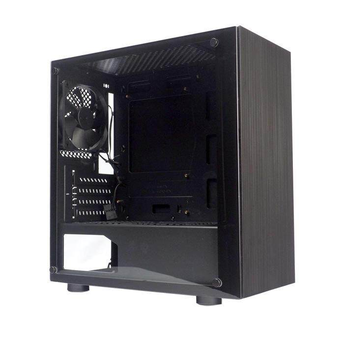 [CAS]Tecware Nexus M mATX Case Tempered Glass - Black Malaysia