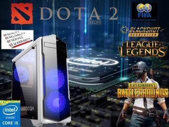 Gaming Pc Intel i5 3570 3.3 GHz GTX 750 TI 2GD5 8 GB RAM 500 GB Hardisk with FREE ( 3 x LED Fan Included)