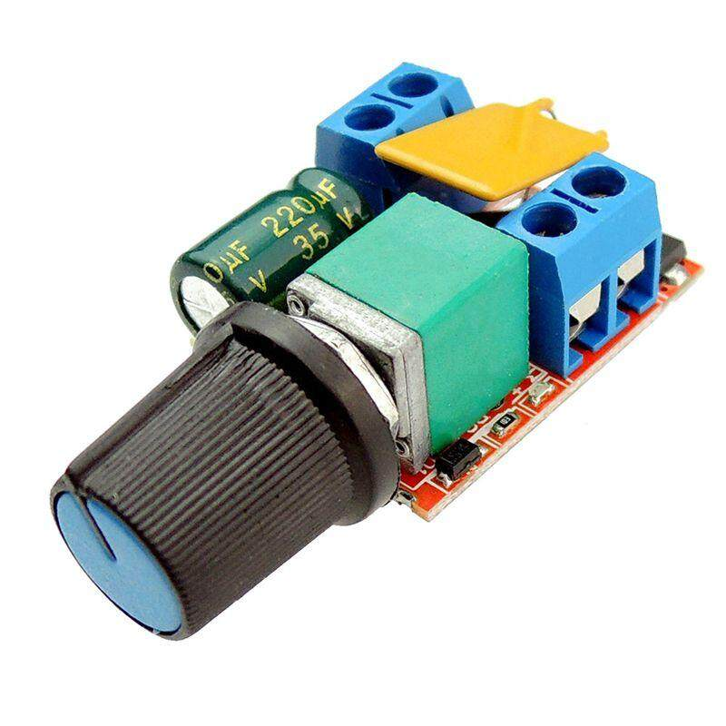 Mini Dc Motor Pwm Speed Controller 3v 6v 12v 24v 35vdc 90w 5a Dc Motor Speed Control Switch Led Dimmer By Sunshineyou.
