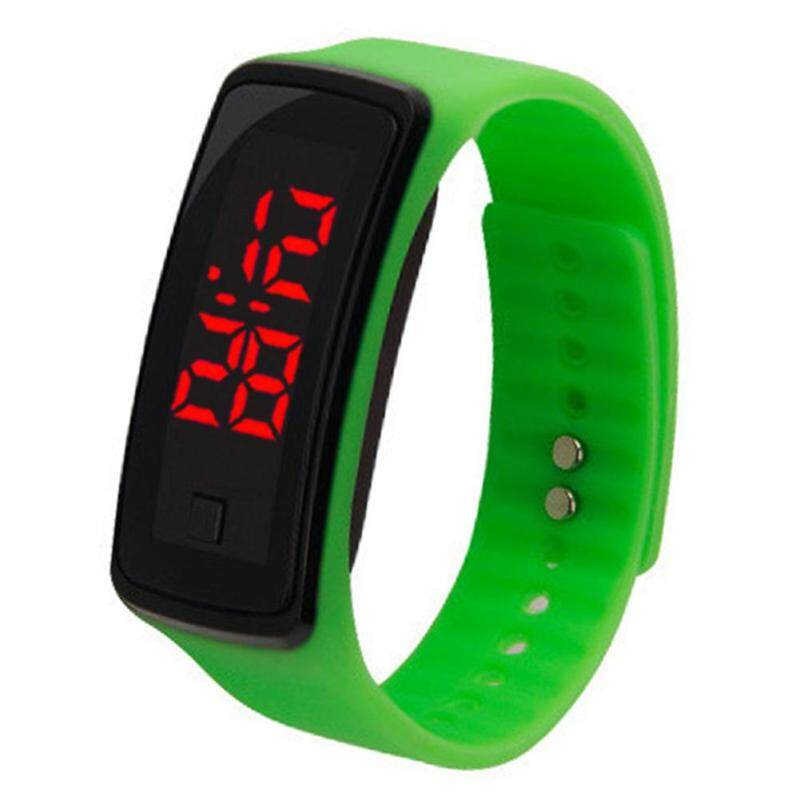 Simple Kids Silicone Electric Watch LED Digital Wrist Watch Ornament Gift Malaysia