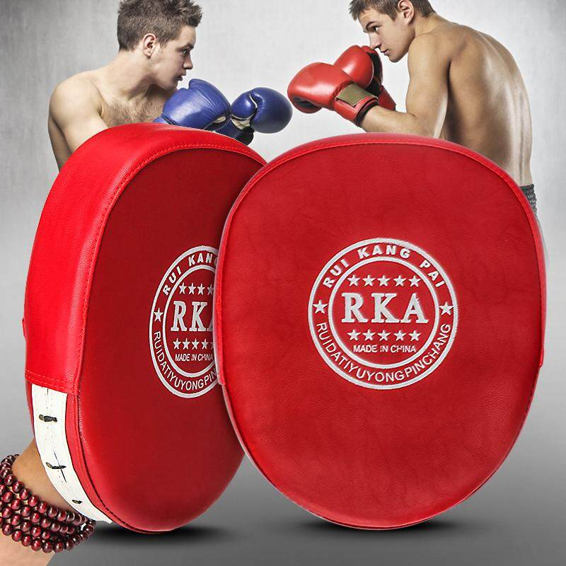 Boxing Mitts Mma Target Focus Punch Pad Training Glove Karate Thai Kick Muay By Freebang.