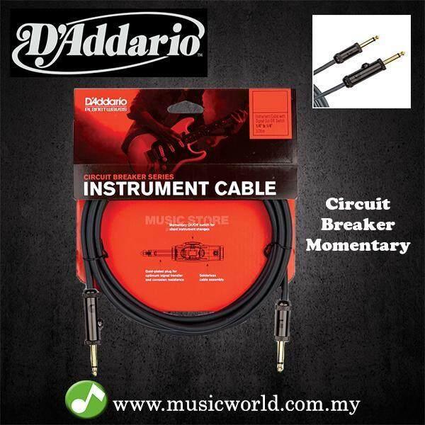 DAddario Planet Wave Circuit Breaker Guitar Instrument Cable PW-AG 10 15 20 D addario Daddario Malaysia