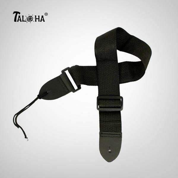 [100% Brand New & Ready Stock] Taloha Premium Black Good Quality Adjustable Guitar & Ukulele Strap Malaysia