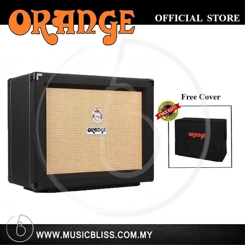 Orange PPC112 60-watt 1x12 Celestion V30 Speaker Cabinet - Black w/ Free Cover Malaysia