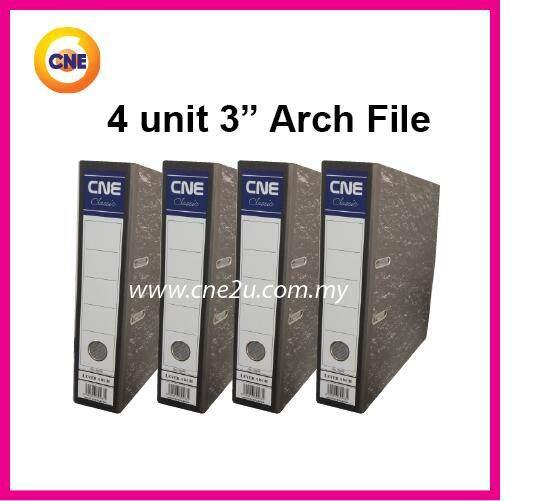 4pcs Cne Arch File 3 By Cne Stationery.