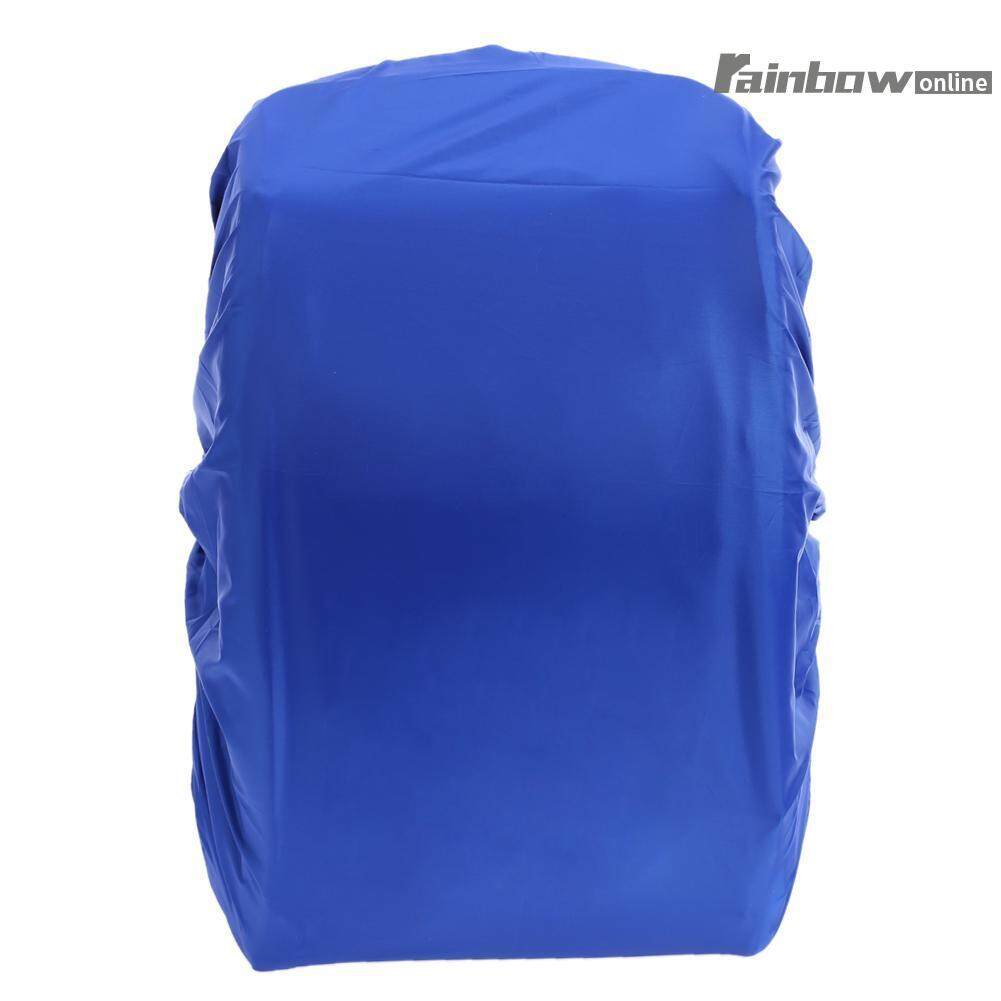 7ad2ea05e4a3 Outdoor Camping Hiking Waterproof Backpack Rain Cover Rucksack  Protector(Blue)