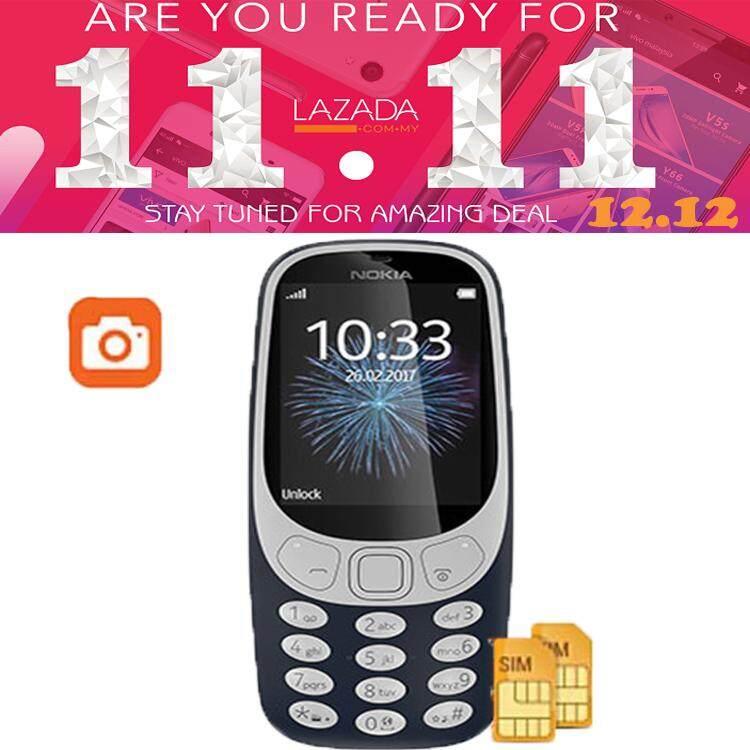 Ready Stock !! Nokia 3310 Dual Sim