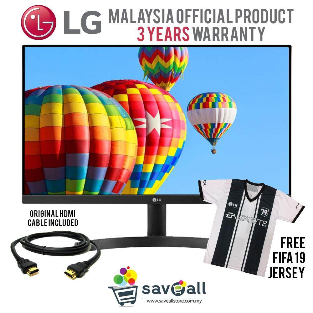 LG 24 IPS Display 3-Side Full HD Monitor (24MK600M, HDMIx2 / D-Sub) Malaysia