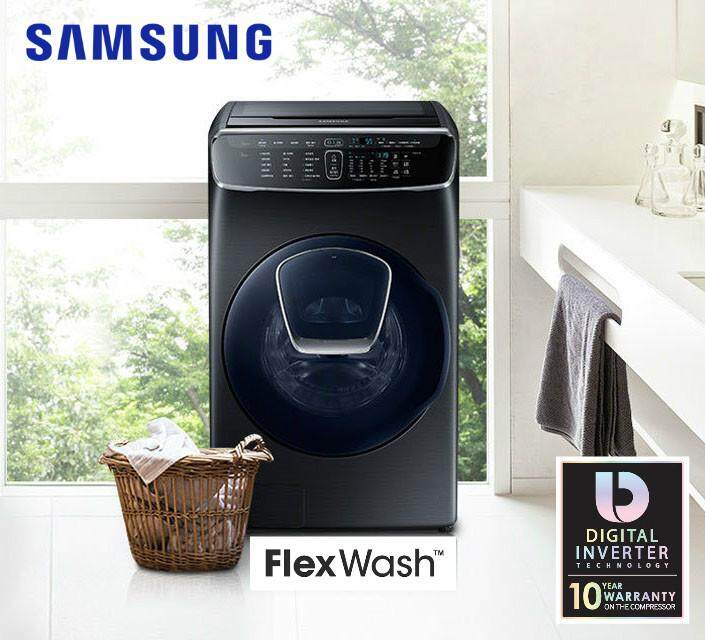 2018 Model Samsung Front Load Top Load Combo Washer