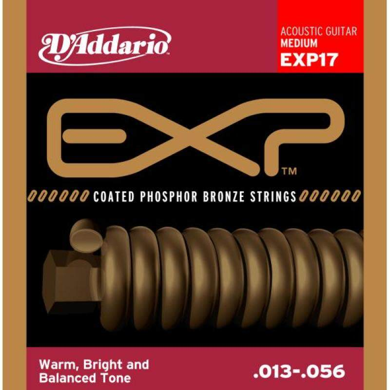 Clearance DAddario EXP17 Phosphor Bronze 13-56 Medium Acoustic Guitar String Malaysia