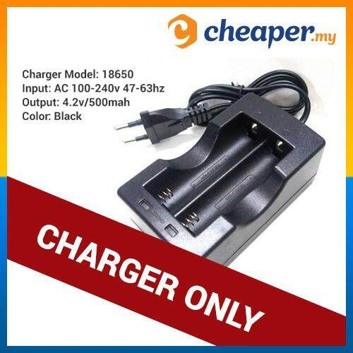 Rechargeable Battery 3.7v 18650 Li-Ion Lithium Batteries (charger Only) By Cheaper.my.