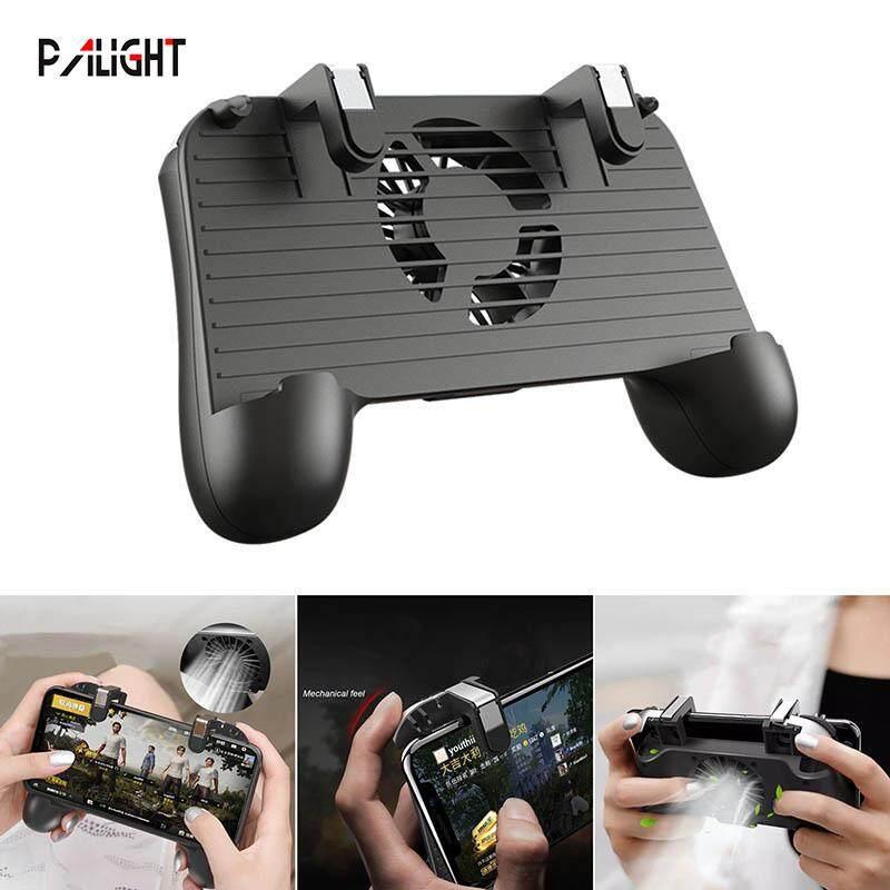 PAlight Gamepad Game Joystick Controller Handle Grip Heat Dissipation Fan for PUBG Mobile Phone