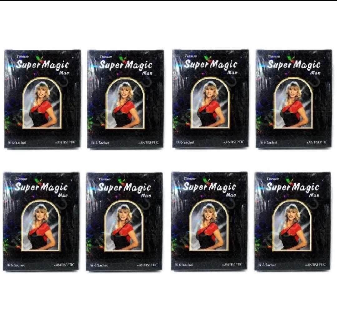 Buy Sell Cheapest Tissue Super Magic Best Quality Product Deals Tisu Power Man Depkes 8 Box 48 Sachets Men Magik Wet Tisue