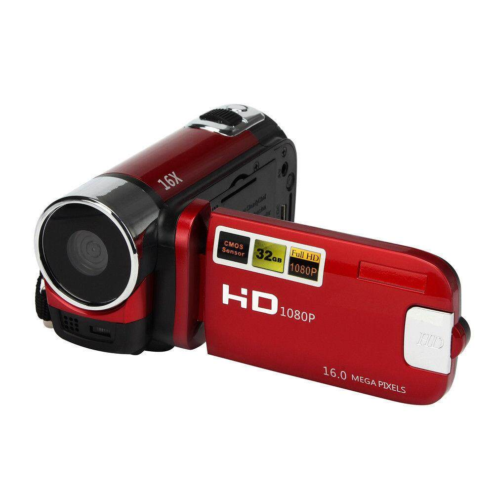 Camera Camcorders, 16MP High Definition Digital Video Camcorder 1080P 2 7  Inches TFT LCD Screen 16X Zoom Camera Recorder Specification:American