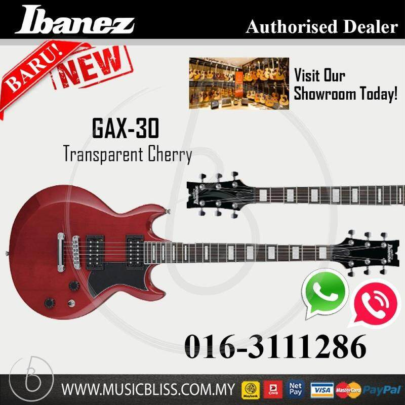 Ibanez GIO GAX30 Electric Guitar (Transparent Cherry) (GAX-30) Malaysia