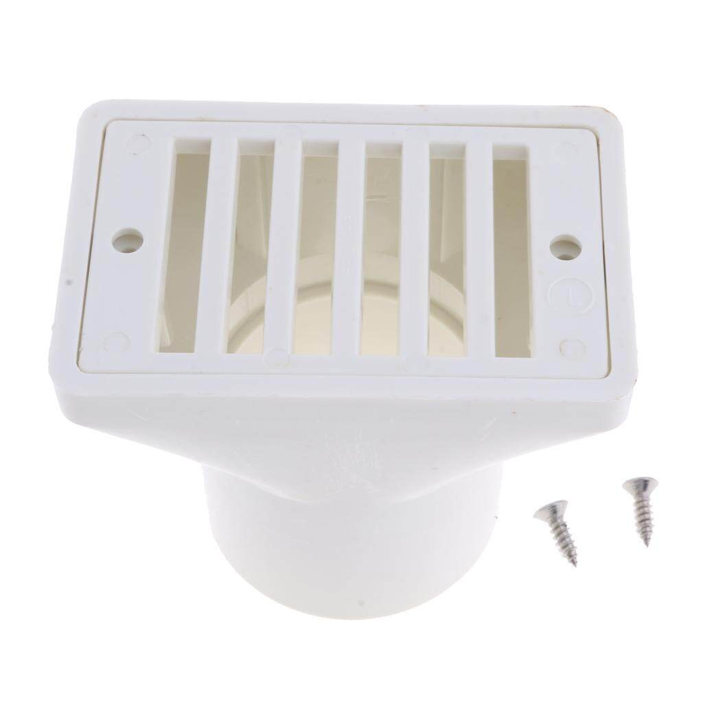 Magideal Swimming Pool Water Overflow Outlet Drainer Pool Discharge 2inch Square By Magideal.