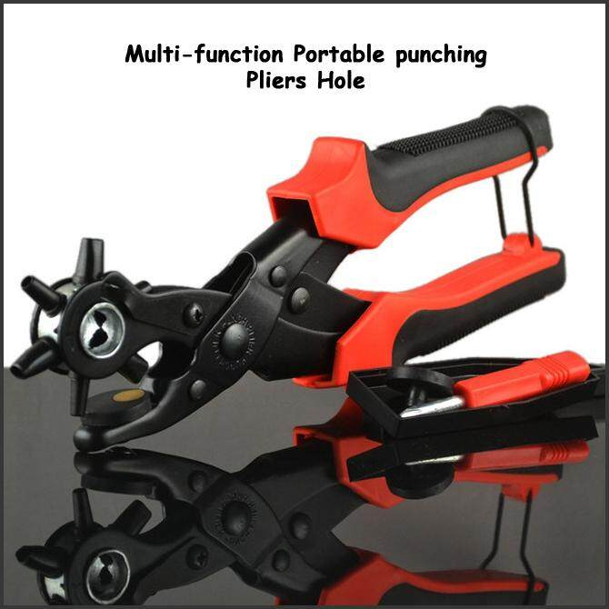 Multi-function Portable Heavy Duty Leather Hole Punch Hand Pliers (Pre-Order 7 - 9 Working Days)