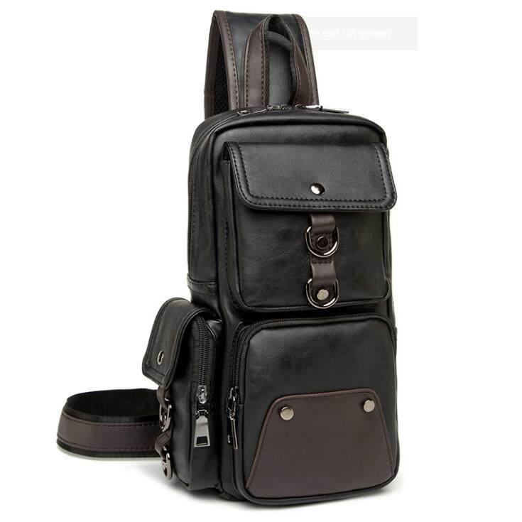 290a6fc8dc MC282 - New Era Design Coolest Man s Chest Pouch   Long Shape Quality  Leather Man s Sling