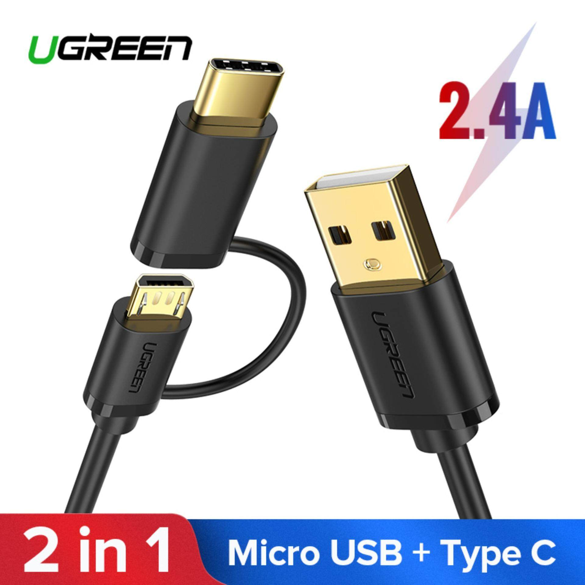 Ugreen Mobile Phone Cables Converters Price In Malaysia Best Kabel Data Xiaomi Type C 05 Meter 2 1 Micro Usb And Fast Charging Cable For