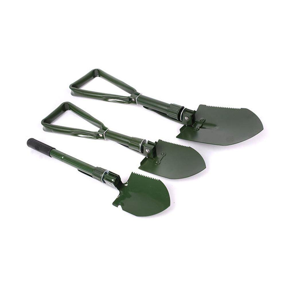 QF Multi-function Outdoor Folding Shovel Sturdy Schep Spade for Camping and Wild Survival