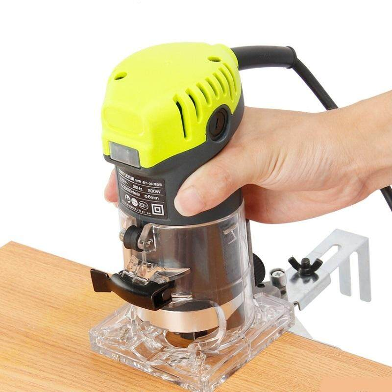 ZHIPU Wood Trimmer Router Machine Cutter Power Tools 500W