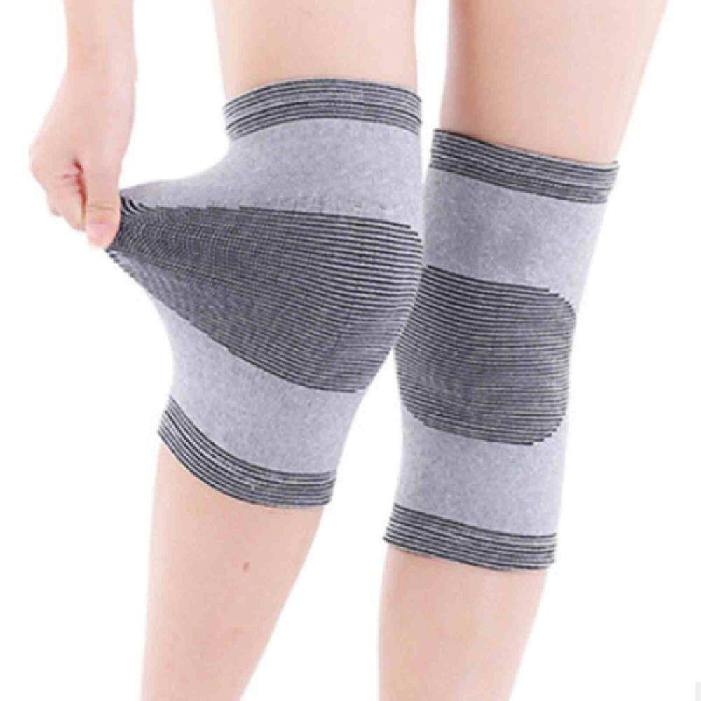 1 Pair Useful Far Infrared Bamboo Charcoal Knee Pad Support Knee Cap Protecter By Zoahu.