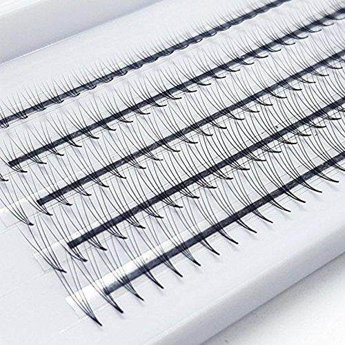 16c8399833e EMEDA 3D Volume Eyelashes Extensions Russian Cluster Individual Eyelashes  Professional Volume C Curl Lash Extensions 0.07 Thickness(3D). 8D. 3D. 2D.  4D