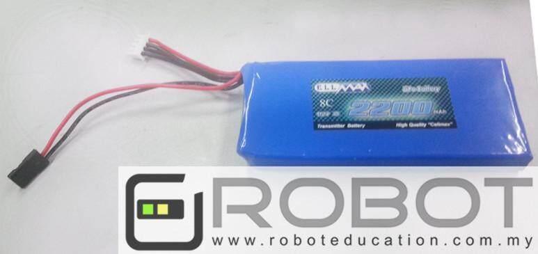 Arduino 11.1V 3S 8C 2200mAH Transmitter Lipo Battery