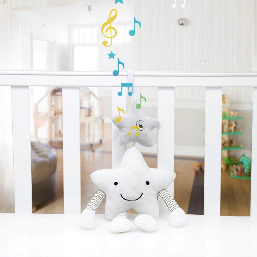 【free Shipping】baby Infant Rattles Plush Pentagr Stroller Hanging Bell Play Toys Doll Soft Bed Aitao By Aitaostore.