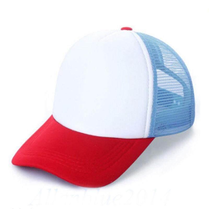 f24737e21b6 Kid Child Red White Blue Adjustable Baseball Cap Stranger Things Dustin Boy  Girl