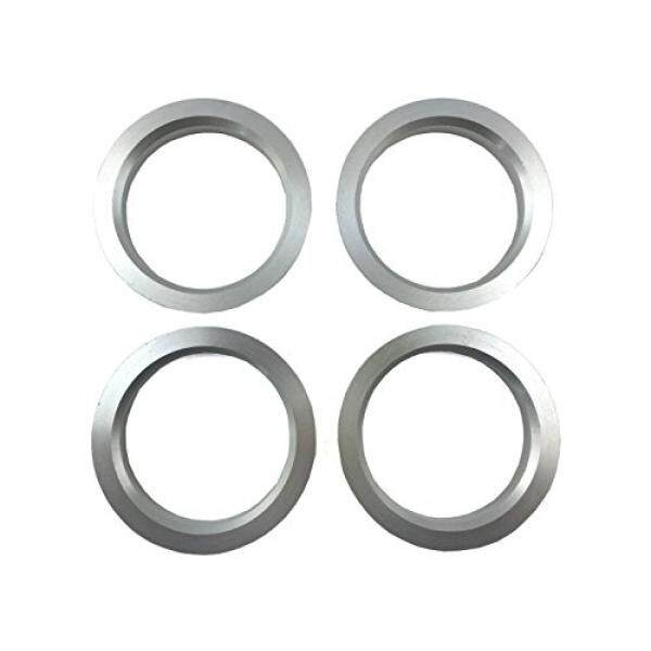 4 Pieces - Hub Centric Rings - 73.1mm Od To 60.1mm Id - Aluminum Hubrings By Barun.