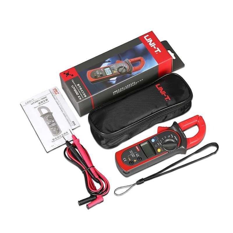 XJING UNI-T UT202A Digital Clamp Multimeter AC/DC Voltmeter AC Current Meter Resistance Multi Tester