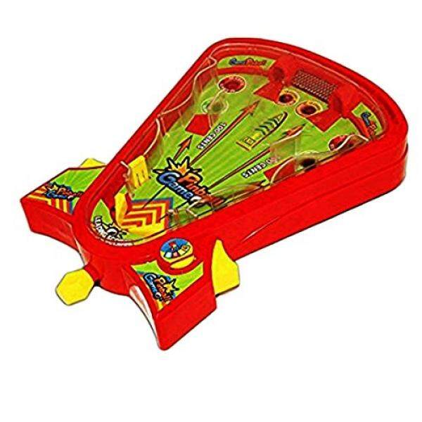 Table Top Pinball Game - Desktop Arcade Pin Ball Board Game Ages 5 Up Portable Tabletop Single Player Pinball Skills Game - Classic Edition By Buyhole.