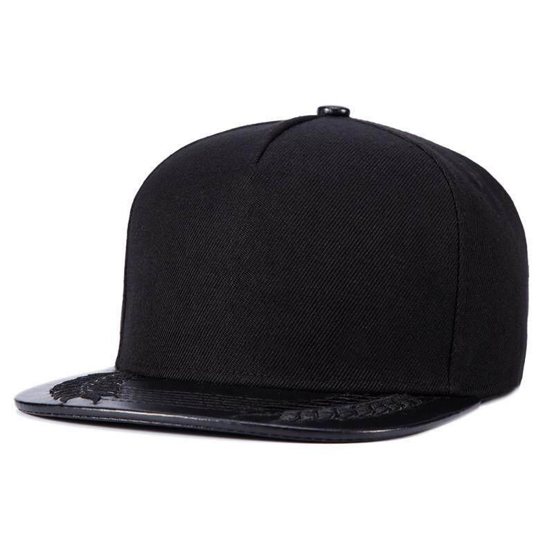 804f12ae3fd WuKe New Baseball Caps Hip Hop Snapbacks Wheat Bones Black Mens Full Plain  Hat