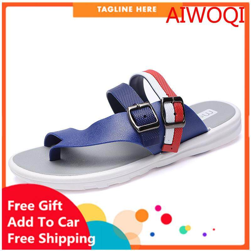 Mens Slippers Male Sandals Beach Sandals Breathable Nest Men Shoes Hole Mesh Sandals Home Slipper Sandalsaiwoqi Jj-1117-801 By Iswell.